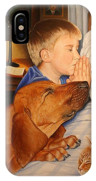 Bed Time Prayers IPhone Case