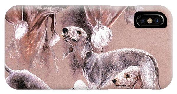 Bedlington Terrier IPhone Case