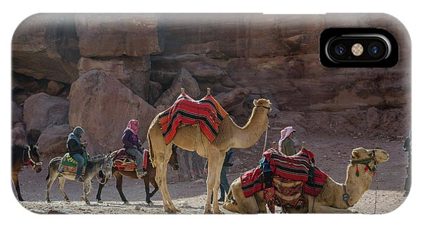 Bedouin Tribesmen, Petra Jordan IPhone Case