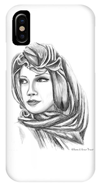 Bedouin Woman IPhone Case