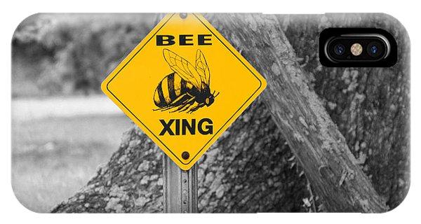 Bee Crossing IPhone Case