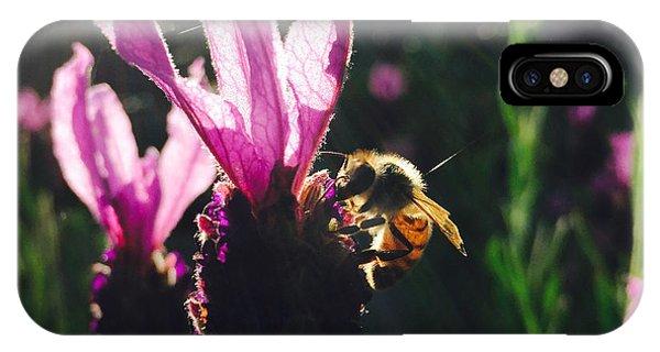 Bee Illuminated IPhone Case