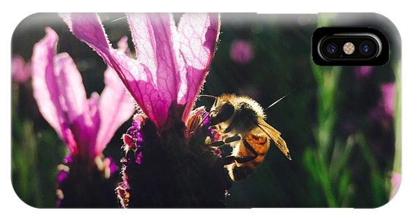 Bee Illuminated IPhone Case