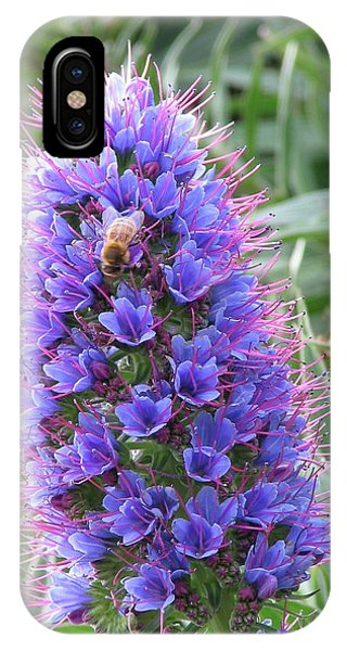 Bee On Blue IPhone Case