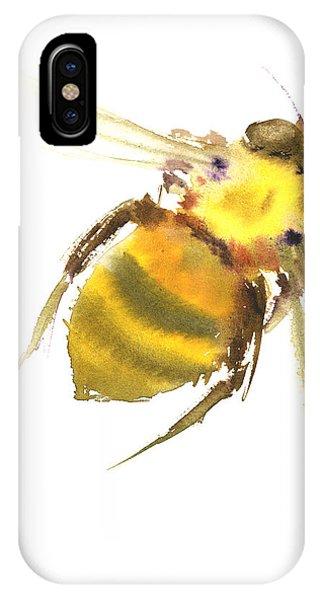 Bee iPhone Case - Bee by Suren Nersisyan