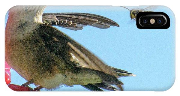 Bee_bird IPhone Case