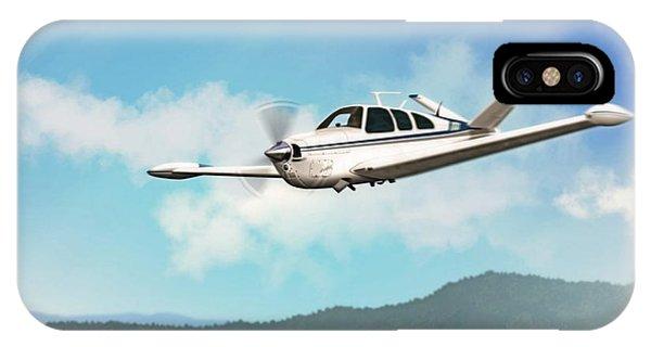 Beechcraft Bonanza V Tail IPhone Case