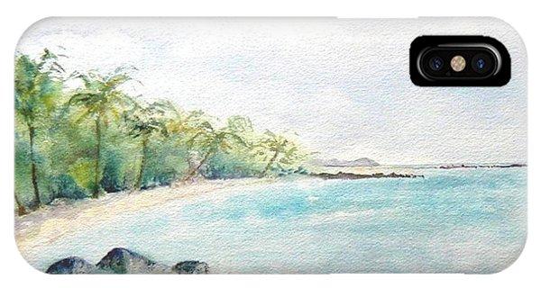 Beef Island Lagoon IPhone Case