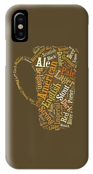 Beer Lovers Tee IPhone Case