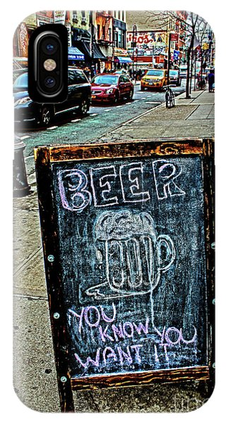 Beer Sign IPhone Case