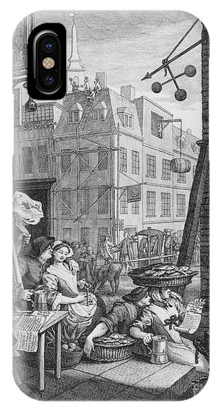 Pub iPhone Case - Beer Street, 1751 by William Hogarth