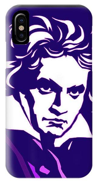 Beethoven Classique One Radio Paris  IPhone Case