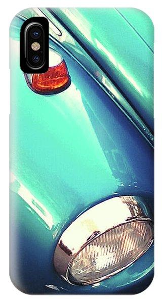 Beetle Blue IPhone Case