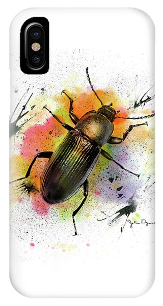 Beetle Illustration IPhone Case