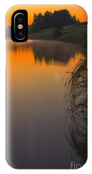 Salo iPhone Case - Before Sunrise On The River by Veikko Suikkanen