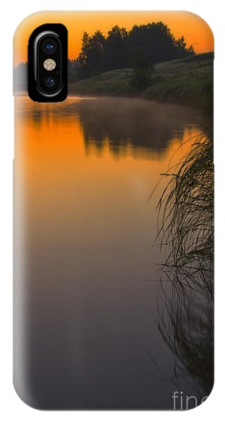 Before Sunrise On The River IPhone Case