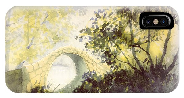 Beggar's Bridge Vignette IPhone Case