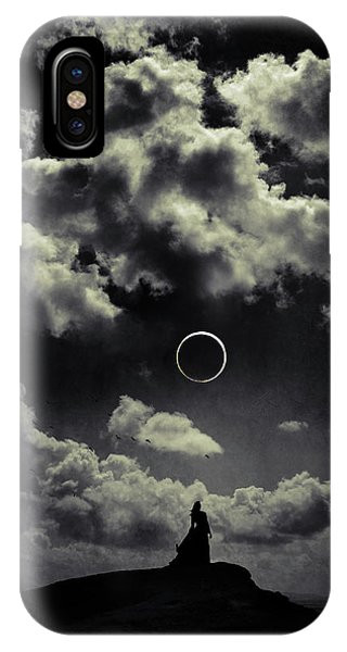 Gloomy iPhone Case - Beginning Of The End by Cambion Art