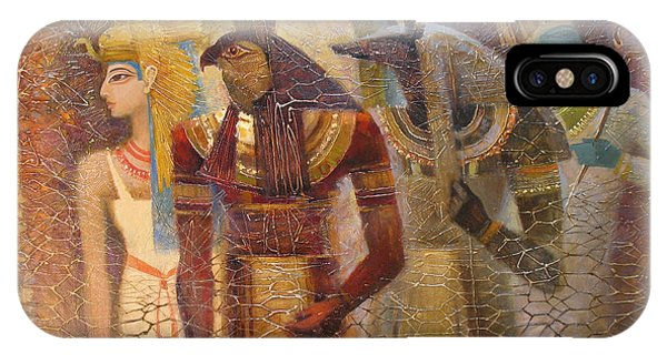 Beginnings. Gods Of Ancient Egypt IPhone Case