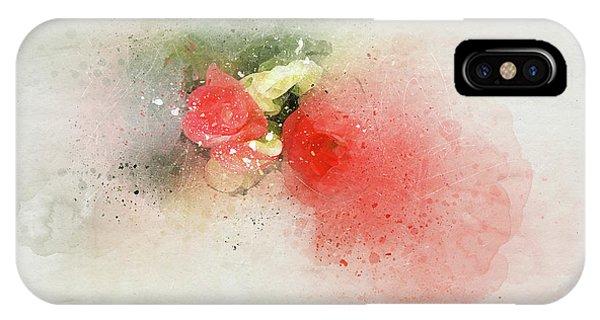 Begonia 7 IPhone Case