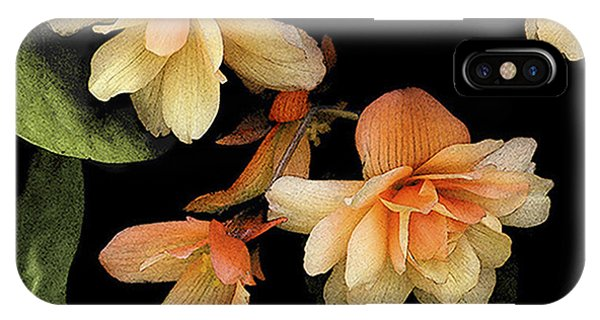 Begonias 2 IPhone Case