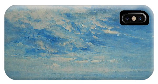 Behind All Clouds IPhone Case