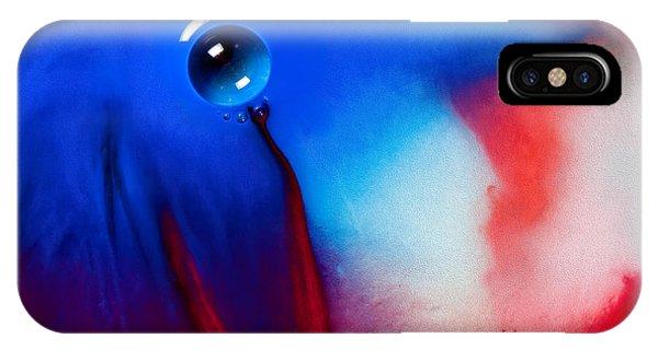 Behind Blue Eye IPhone Case