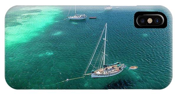 Behind Dakity Reef IPhone Case