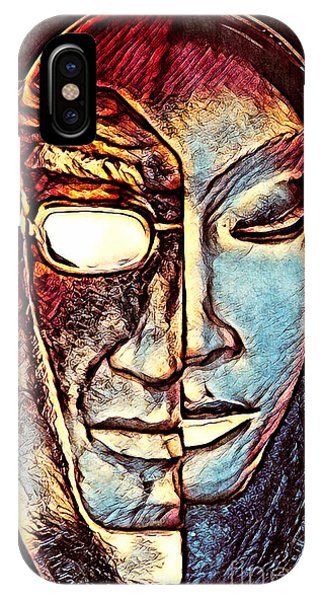 Behind The Mask IPhone Case
