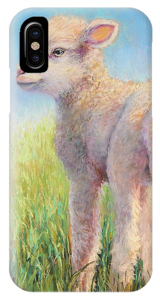 Behold The Lamb IPhone Case