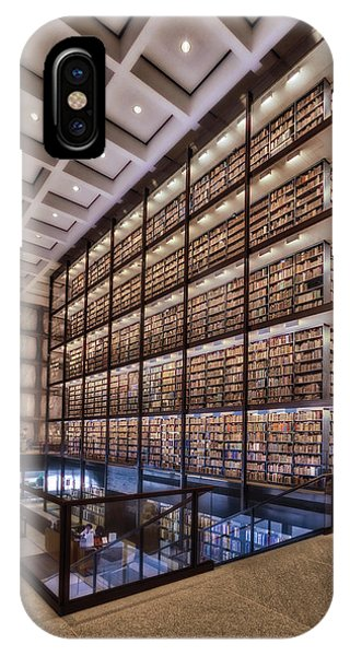 Beinecke Rare Book And Manuscript Library IPhone Case