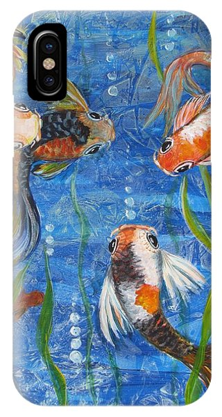 Being Koi IPhone Case