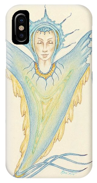 Being Of Light Phone Case by K S Rankin