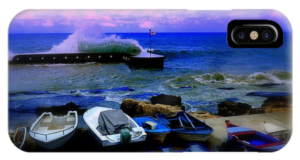 Beirut Seaside Waves IPhone Case
