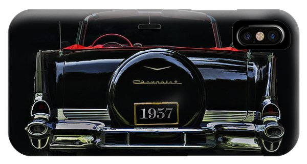 Chevrolet iPhone Case - Bel Air Nights by Douglas Pittman
