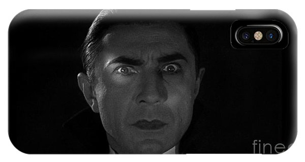 Bela Lugosi  Dracula 1931 And His Piercing Eyes IPhone Case