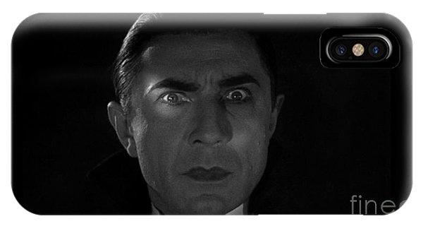 Bela Lugosi  Dracula 1931 And His Piercing Eyes IPhone Case