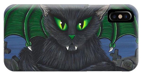 Bela Vampire Cat IPhone Case