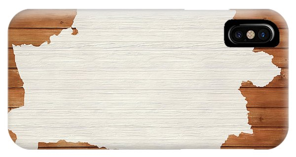 Traveler iPhone Case - Belarus Rustic Map On Wood by Dan Sproul
