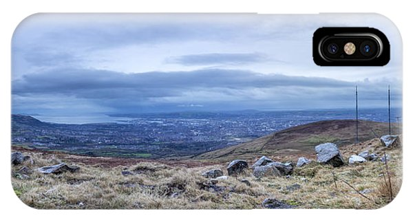 Belfast Lough From Divis Mountain IPhone Case