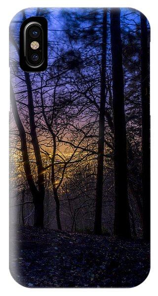 Belfast Through The Trees Part 1 IPhone Case