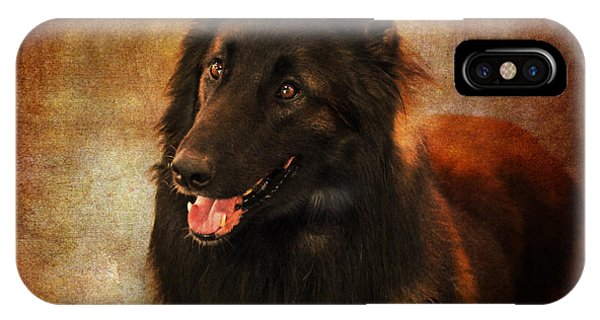 Belgian Tervuren Shepherd IPhone Case