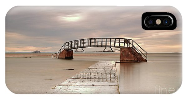Belhaven Stairs And The Bass At Low Tide IPhone Case