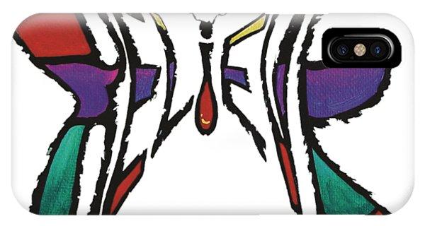 Believe-butterfly IPhone Case
