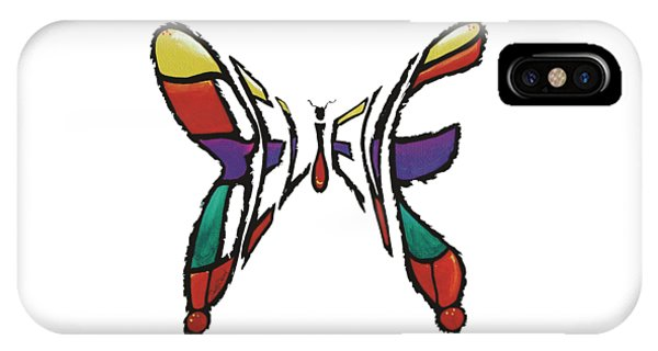 Believe-butterfly IPhone Case