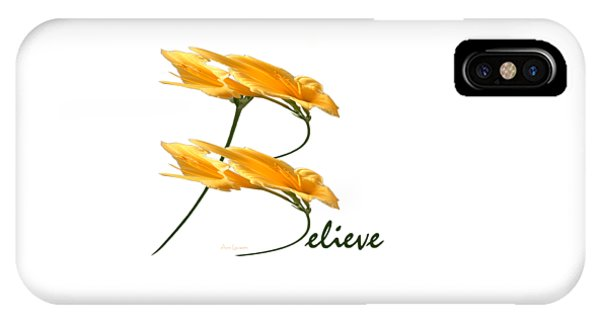 Believe Shirt IPhone Case