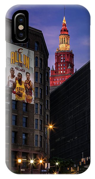 Kyrie Irving iPhone Case - Believeland by Dale Kincaid