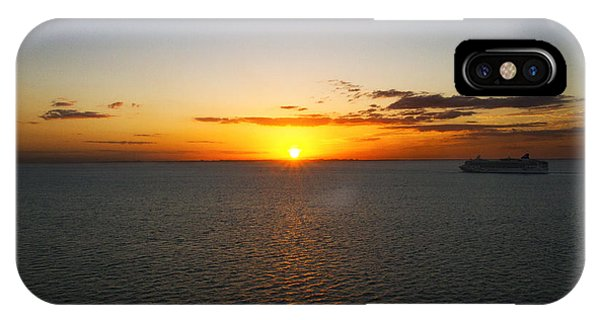 Belize Sunset IPhone Case