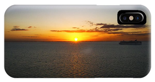 Belize Sunset IPhone Case