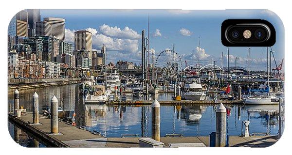 Bell Harbor Marina  IPhone Case